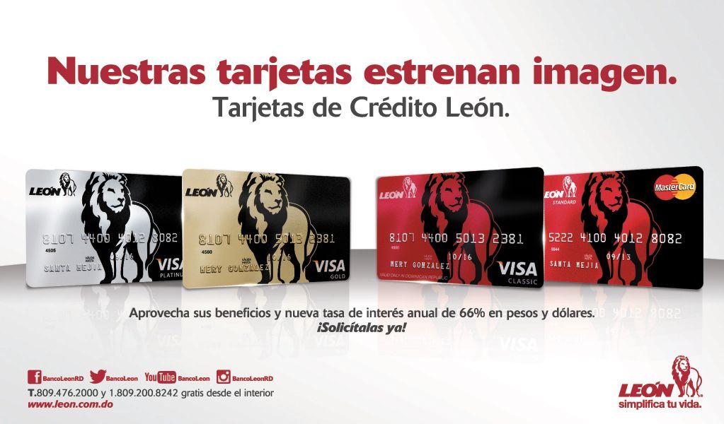 Tarjetas Banco Leon